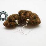 Bronze earrings / Brązowe kolczyki by Tender December, Alina Tyro-Niezgoda