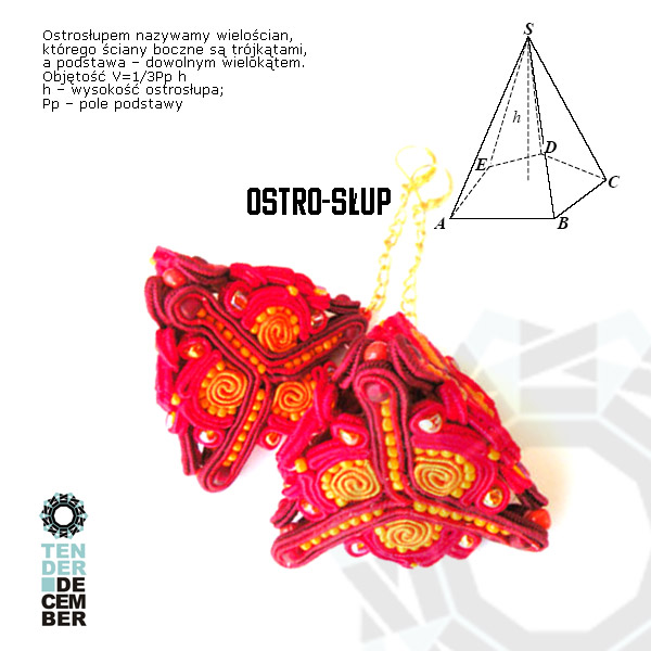 Soutache geometry / Sutaszowa geometria by Tender December, Alina Tyro-Niezgoda