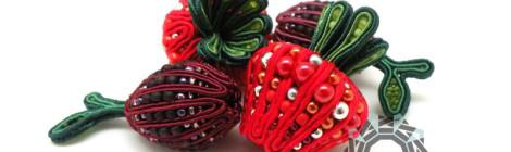 Fruit soutache / Sutasz owocowy by Tender December, Alina Tyro-Niezgoda