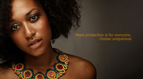 Mass production is for everyone, choose uniqueness / Masowa produkcja jest dla każdego, wybierz oryginalność by tender December, Alina Tyro-Niezgoda