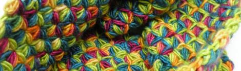 Multicolour neck warmer / Kolorowy komin by tender December, Alina Tyro-Niezgoda