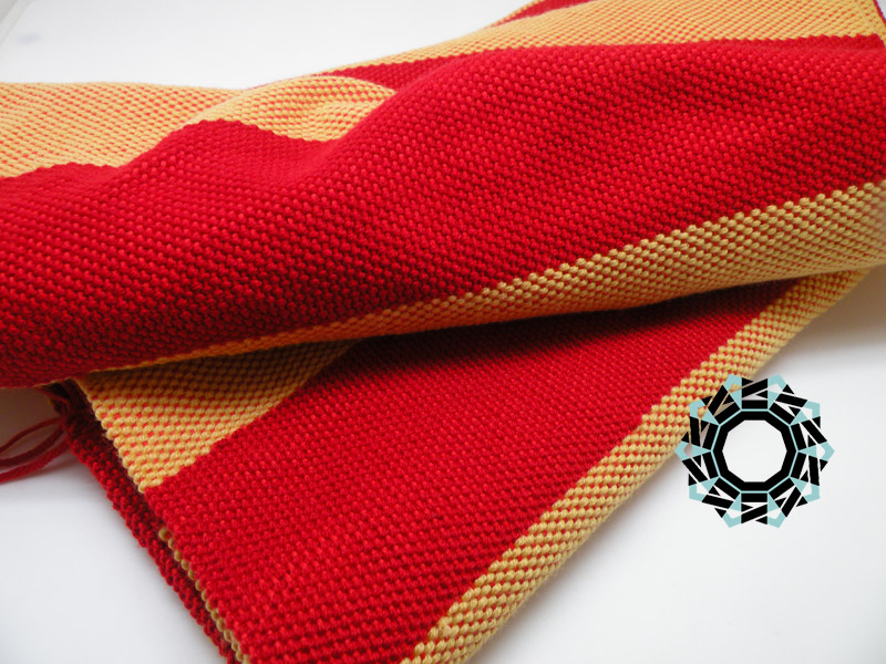 Striped scarves / Szaliki w paski by tender December, Alina Tyro-Niezgoda