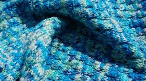 Knitted scarf / Szalik na drutach