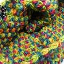 Weaved tube scarf / Komin tkany by Tender December, Alina Tyro-Niezgoda,