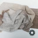 """""""Asymmetrical colours"""" shawl / Szal """"Niesymetryczne kolory"""" by Tender December, Alina Tyro-Niezgoda More / Więcej: http://tenderdecember.eu/painting-with-acryl-malowanie-akrylem/ To buy / Aby kupić: http://tenderdecember.eu/shop/produkt/acrylic-xxl-shawl-color-white-beige-akrylowy-szal-xxl-w-tonacji-bieli-bezy/"""