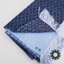 """""""Asymmetrical colours"""" shawl / Szal """"Niesymetryczne kolory"""" by Tender December, Alina Tyro-Niezgoda More / Więcej: http://tenderdecember.eu/painting-with-acryl-malowanie-akrylem/ To buy / Aby kupić: http://tenderdecember.eu/shop/produkt/acrylic-xxl-shawl-color-white-blue-nawy-blue-akrylowy-szal-xxl-w-tonacji-bieli-blekitu-granatu/"""
