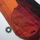Orange-brown, cotton, big handwoven shawl / Pomarańczowo-brązowy, bawełniany, wielki szal, ręcznie tkany by Tender December, Alina Tyro-Niezgoda More / Wiecej: https://tenderdecember.eu/woven-tkane/painted-with-cotton-malowane-bawelna/ To buy / Aby kupić: https://tenderdecember.eu/shop/produkt/cotton-xxl-shawl-color-orange-red-brown-bawelniany-szal-xxl-w-tonacji-pomaranczy-czerwieni-brazow/