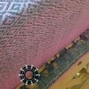 """""""Painted with cotton"""" shawl / Szal """"Malowane bawełną"""" by Tender December, Alina Tyro-Niezgoda"""
