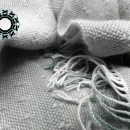 Gray scarf / Szary szalik by Tender December, Alina Tyro-Niezgoda,