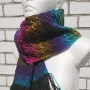 Rainbow scarf by Tender December
