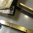 gold, silver and transparence: bag / toebka złota, srebrna, przezroczysta by Tender December, Alina Tyro-Niezgoda,