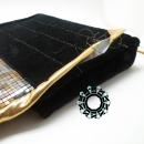 Evening hematite purse / Wieczorowa torebka z hematytów by Tender December