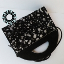 A purse with ruffles / Torebka z falbankami by Tender December, Alina Tyro-Niezgoda,