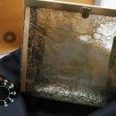 Gold, silver and transparence: bag / Torebka złota, srebrna, transparentna by Tender December, Alina Tyro-Niezgoda,